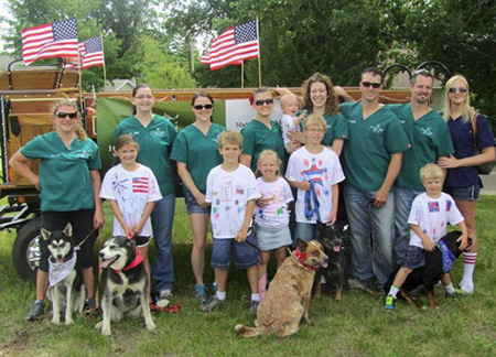 4th July Group Iron Range Veterinary Clinic